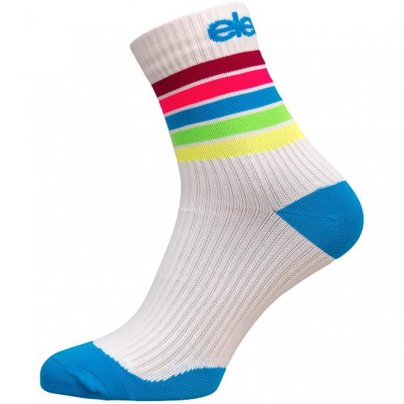 Kompresní ponožky Strada Stripe White
