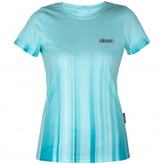 T-shirt Eleven Annika Strip Aqua
