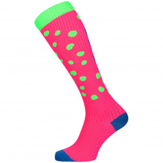 Compression socks DOT Green