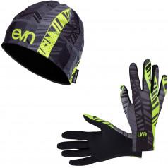 Běžecké rukavice + čepice Pass F11