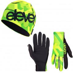 Běžecké rukavice + čepice Vertical F150