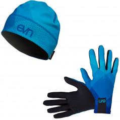 Běžecké rukavice + čepice Top 1