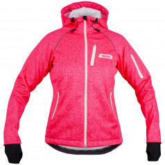 Softshell bunda Eleven Screen Pink