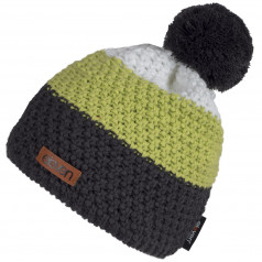 Knitted beanie Eleven Pom Green