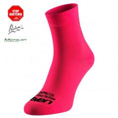 Compression socks Eleven Strada Fuxia