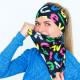 Multifunkční šátek Eleven Lett BK Color