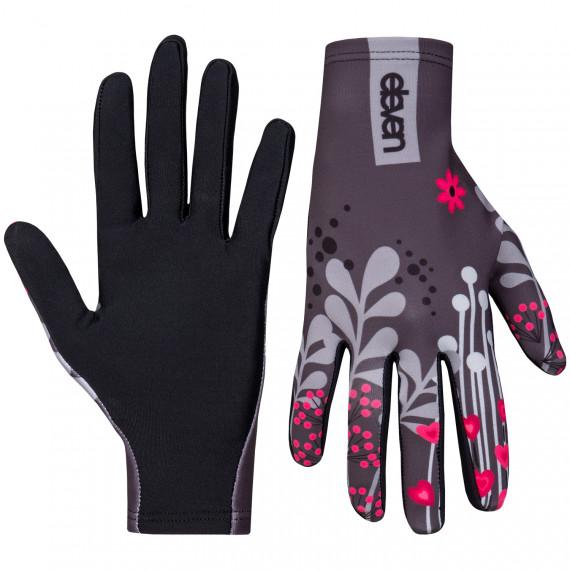 Running gloves Eleven Meadow grey