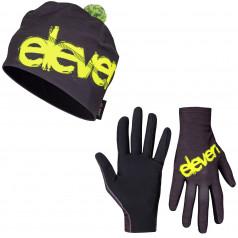 Running gloves + cap ELEVEN Fluo F11