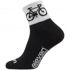 Ponožky ELEVEN HOWA ROAD black/white