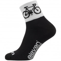 Socks Eleven Howa Road Black/White