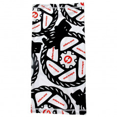 Multifunctional scarf Eleven Break White